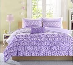 Full Size Purple Comforter Sets Amazon Com Mizone Girls 4 Piece Comforter Set Purple Full