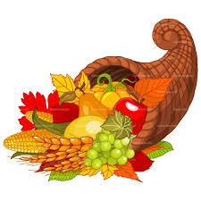 thanksgiving cornucopia clipart free clipartxtras