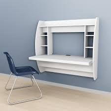 Modern Floating Desk Prepac Floating Desk With Storage White Hayneedle