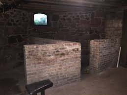 dad bought a very old house what are these weird half walls in