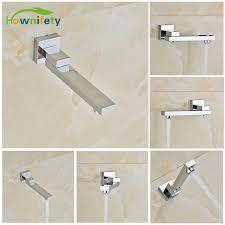 montaggio vasca da bagno cromo lucido per montaggio a parete vasca da bagno rubinetto canna