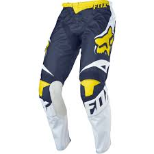 fox motocross clothing fox racing 2016 180 race se pants white yellow available at