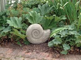 grand ammonite fossil sculpture garden ornament s s shop