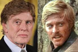 when did robert redford get red hair movie star robert redford looks a little too good for his age at