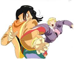 android 17 and 18 z image 758502 zerochan anime image board