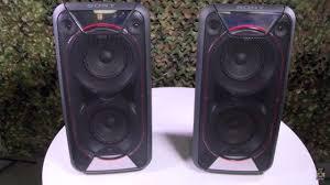 sony high powered bluetooth light up speaker gtk xb5 sony gtk xb90 extra bass portable bluetooth speakers youtube