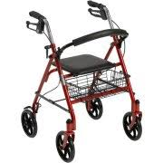 senior walkers with seat walkers rollators walmart