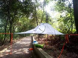 review skysurf triangle hanging tree tent lightweight backpacking