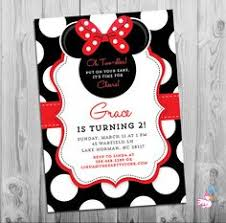custom minnie mouse oh twodles toodles printable birthday