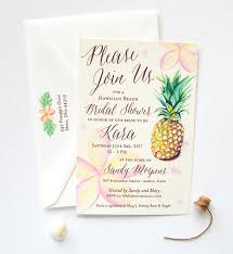15 tropical bridal shower invitations u0026 details southbound bride