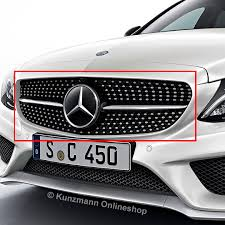 mercedes grill c 43 amg grill with 360 c class w205