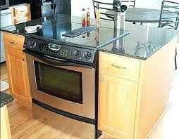 kitchen islands with stove kitchen island with stove bloomingcactus me