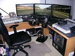 Desk For Dual Monitor Setup Computer Desk Dual Monitor Computer Desk Arms Mount Dual Monitor
