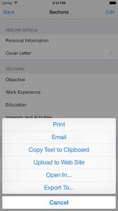 Resume Designer App Resume Designer 3 On The App Store
