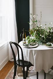 a pacific northwest inspired tablescape small space entertaining