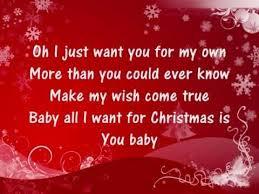 for christmas carey all i want for christmas is you lyrics