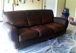 grease stains leather sofa restore furniture water remove tea stain