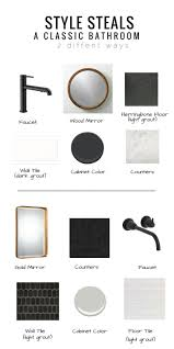 Black And White Bathroom Decorating Ideas Best 25 Black White Bathrooms Ideas On Pinterest Classic Style