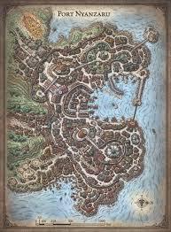 Empty World Map Map Of Port Nyanzaru Album On Imgur