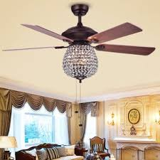 Dining Room Ceiling Fans With Lights Chandelier Ceiling Fan Wayfair Intended For Plans 19