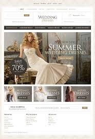 bridal websites top 30 wedding e commerce themes