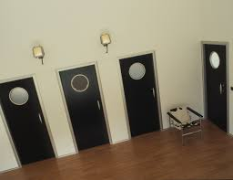 made to measure modern interior doors with removable aluminium