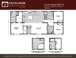 schult integrity 6832 55 excelsior homes west inc
