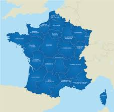 A Map Of France by Map Of France French Regions Royalty Free Editable Base Map