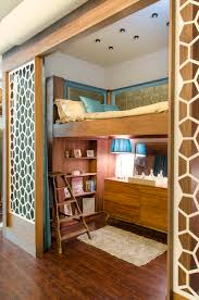 cabinet furniture shop warner bros studio facilities custom walls built in bed and bookshelf for lauri howell designs seen dwell