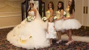 gipsy brautkleid my big wedding eine hochzeit und vier taufen tlc