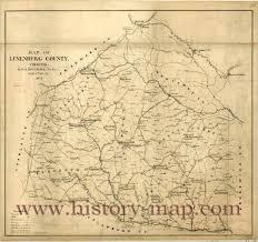 Virginia County Map by County Virginia