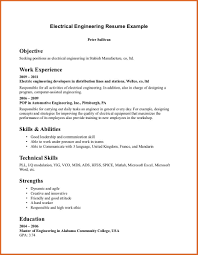 Creative Engineering Resume Electrical Engineer Resume Resume Name