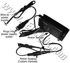 power supply led light custom harness low voltage led lights