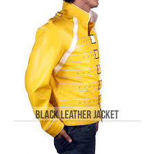 freddie mercury halloween costume freddie mercury yellow jacket queen rock band costume