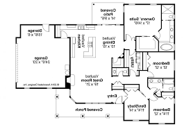Open Floor Plans For Ranch Homes by Open Ranch Floor Plans Love This Layout With Extra Rooms Single