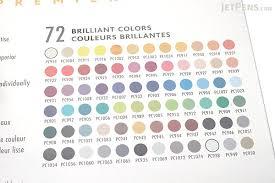 prismacolor pencils prismacolor premier colored pencil 72 color tin set jetpens