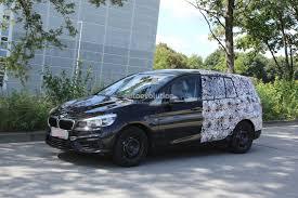 bmw minivan 2015 2015 bmw 2 series 7 seater spied half autoevolution
