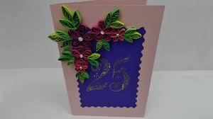 how to make a happy birthday greeting card anniversary diy
