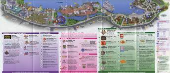 Map Of Orlando by Theme Park Brochures Downtown Disney Theme Park Brochures