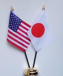 united states of america u0026 japan friendship table flag