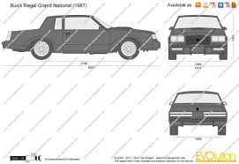 1982 Buick Grand National For Sale The Blueprints Com Vector Drawing Buick Regal Grand National