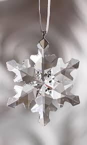 Swarovski Christmas Snowflake Ornaments by 36 Best Swarovski Holiday Images On Pinterest Swarovski Crystals