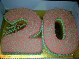 20th birthday cake ideas 1 cake birthday