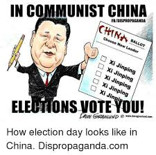 X I Meme - in communist china fbidispropaganda choose ballot new leader xi xi
