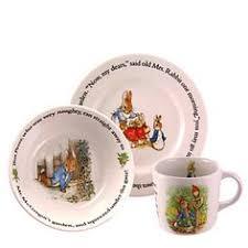 wedgwood rabbit tea set mr fisher by beatrix potter royal albert by dustandruffles