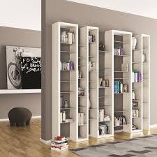 Ark Bookshelf by Lacquered Modular Mdf Bookcase Ice Mix By Arkof Labodesign Design