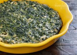 Spinach Quiche With Cottage Cheese by Easy Crust Less Spinach And Feta Pie Skinnytaste