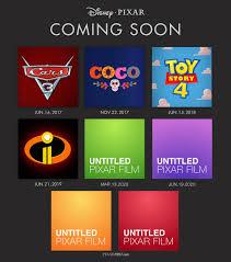 pixar u0027s future film slate 4 original films in development from