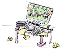 Student Desk Clipart Messy Student Desk Clipart Clip Art Library