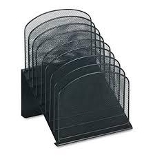safco onyx mesh desk organizer amazon com safco products 3258bl onyx mesh desktop organizer with